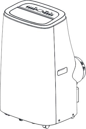Vostok 4.7kW Portable Air Conditioner (16,000 BTU Reverse