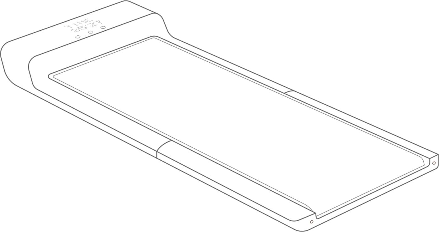 Fortis WalkingPad Foldable Smart Treadmill T1 Pro