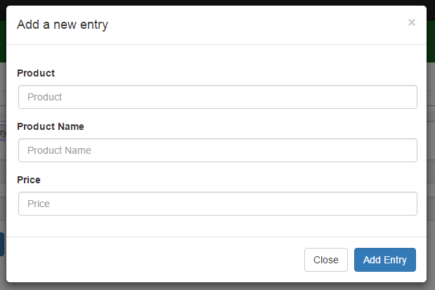 Add New Deep List Entry with no key