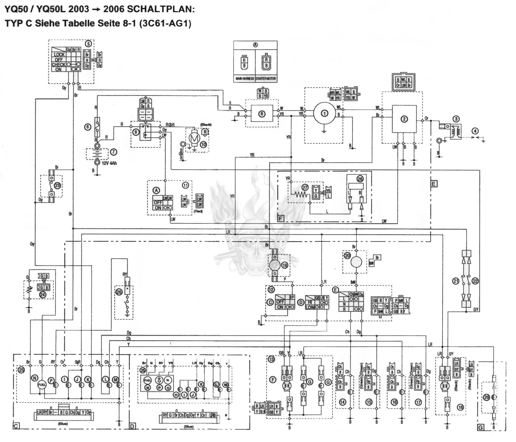 Basic Scooter Wiring Diagram Speed