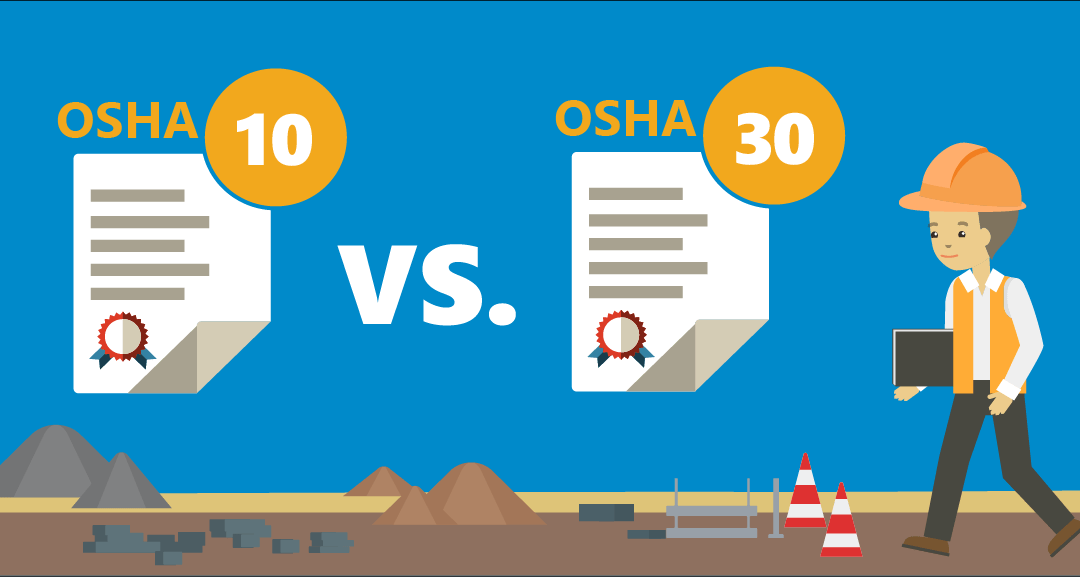 OSHA 10 vs. OSHA 30: What is the Difference?