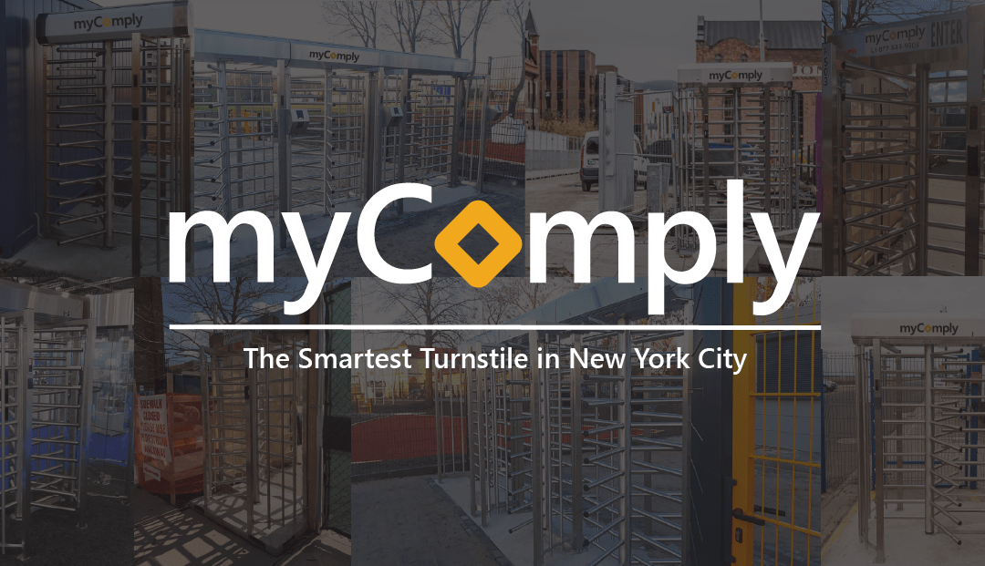 Why myComply Turnstiles for Construction in New York City?