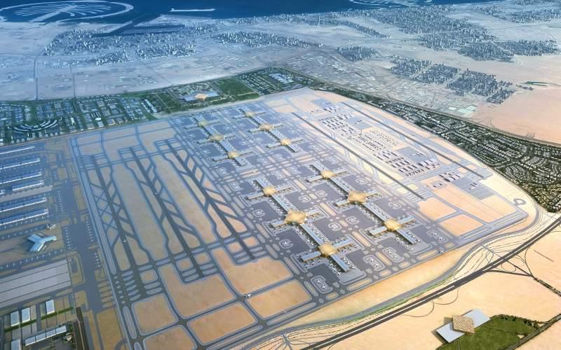 Al Maktoum International Airport mega construction project