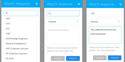 adding and managing Resources