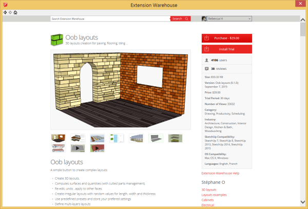 Sketchup Extension Warehouse - Year of Clean Water