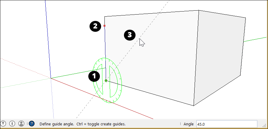 Measuring Angles and Distances to Model Precisely