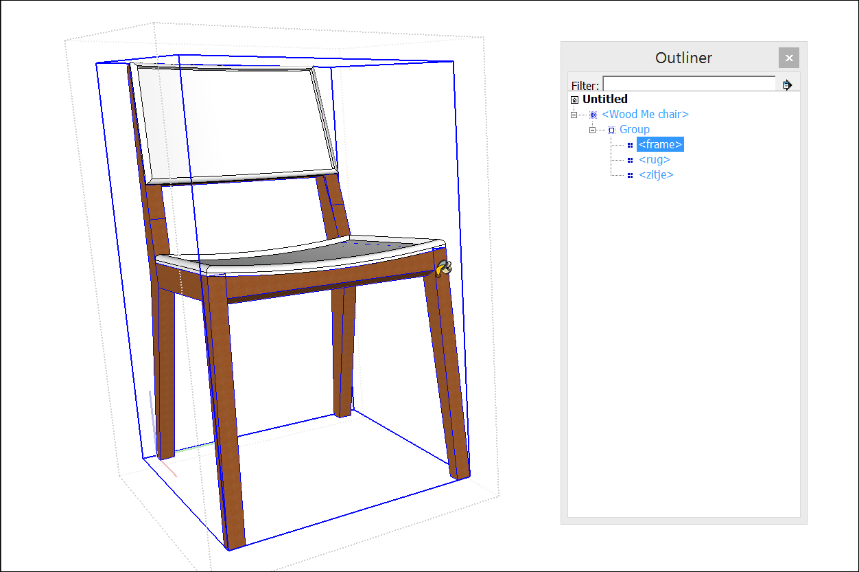 chair design sketchup high back go anywhere 2 adding colors and textures with materials help