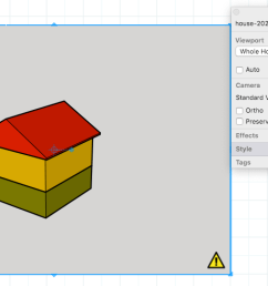 when a sketchup model entity in a layout presentation needs to be rendered a yellow [ 1455 x 840 Pixel ]