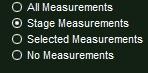 VizTerra Hide Unhide Panel Measurement Options