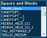 Pool Studio AutoCAD Spaces and Blocks