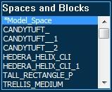Pool Studio AutoCAD Spaces and Blocks