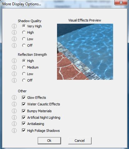 Pool Studio Create Presentation More Display Options