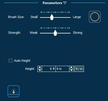 Pool Studio Property Slope Terrain Stage Parameters