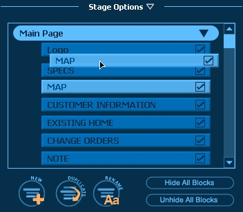 Pool Studio Tutorial Step 17 Construction Stage Options