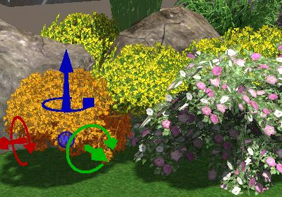 VizTerra Moving Plants and Trees in 3D