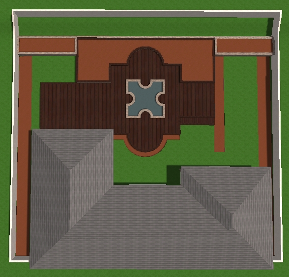 VizTerra Tutorial Step 8 Planter Beds 3D View