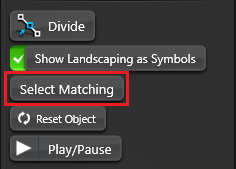 Object Tab Select Matching