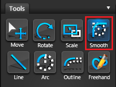Vip3D Tools Smooth