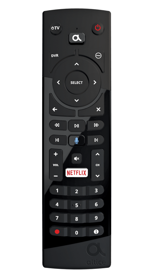 small resolution of altice one remote