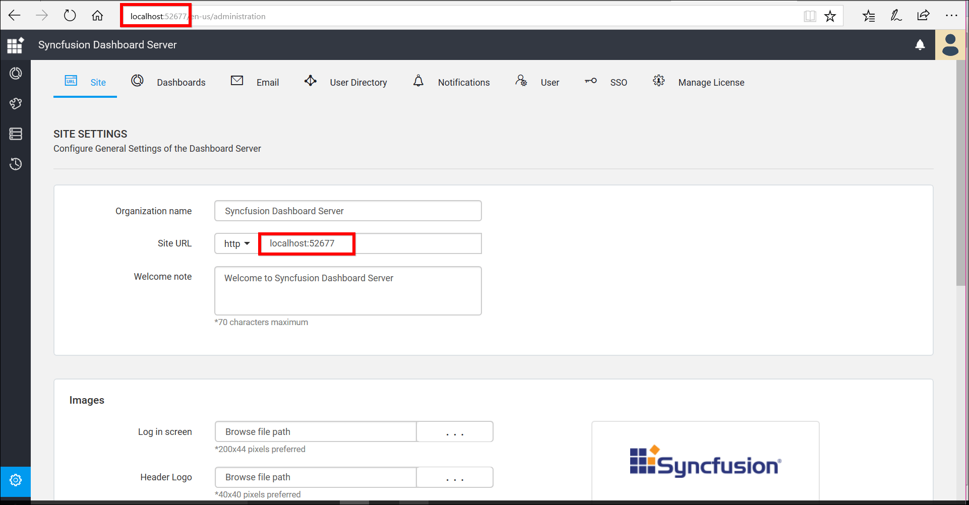 Upgrade Syncfusion Dashboard Server from any version to 3.2.