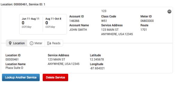 SERVICE-ID-CARD-Location tab