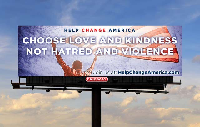 help change america billboard