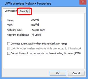 Wifi setup manual for Win 8 & Win 10 – HKCT IT Helpdesk