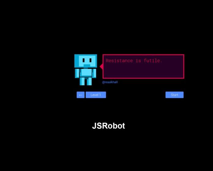 JSRobot - Learn javascript