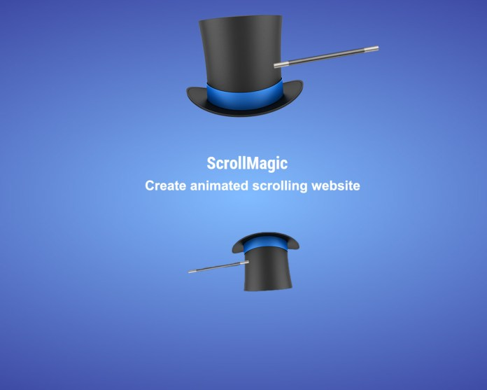 Create animated scrolling website with ScrollMagic