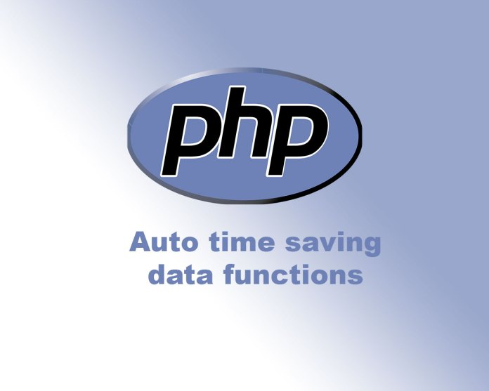 PHP auto data functions