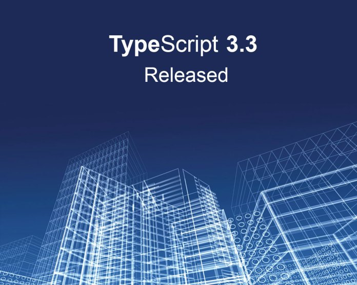 TypeScript 3.3 released