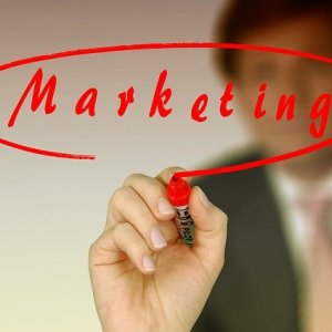 businessman marketing
