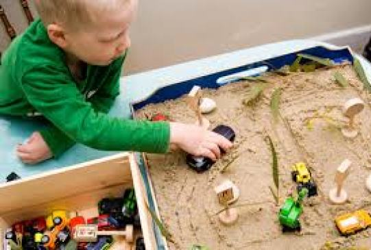 Boys in Play Therapy in Beaumont & Edmonton learn emotional intelligence eg ADHD, Anger.
