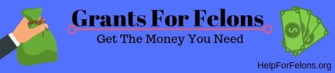List of Grants for Felons   Updated List   Help For Felons ...