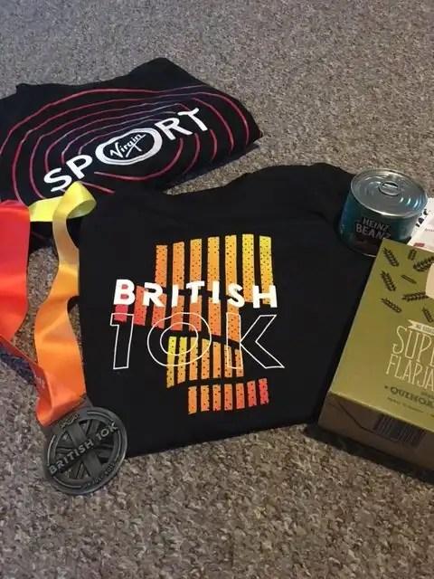British 10K - Finishers Pack