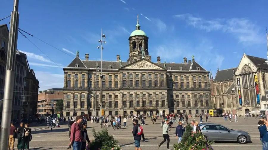 4 days in Amsterdam - Dam Square