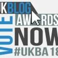 UK Blog Awards - Vote Now