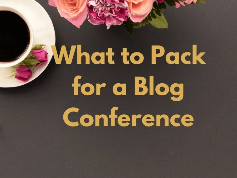 Expert Tips on What to Pack for a Blog Conference Clothes Tech Attitude Notebooks Chargers Roommates