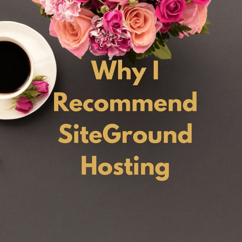 Why I Recommend SiteGround Hosting