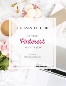 Best blogging tools include my Pinterest Ebook
