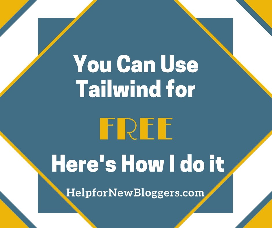 You can get your Tailwind for free. See how I do it and you can too.