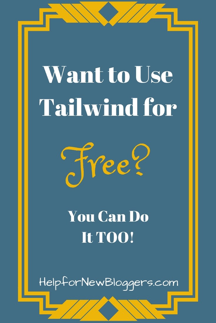 I've gotten my Tailwind account for free for YEARS - I'll show you how you can too.