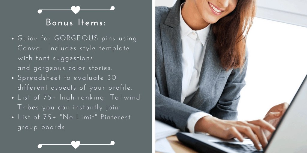 Pinterest Ebook Landing Page Bonus Items2