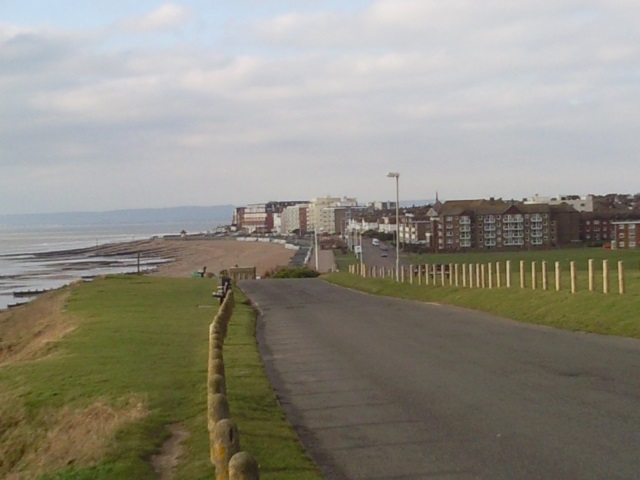Entering Bexhill-on-Sea