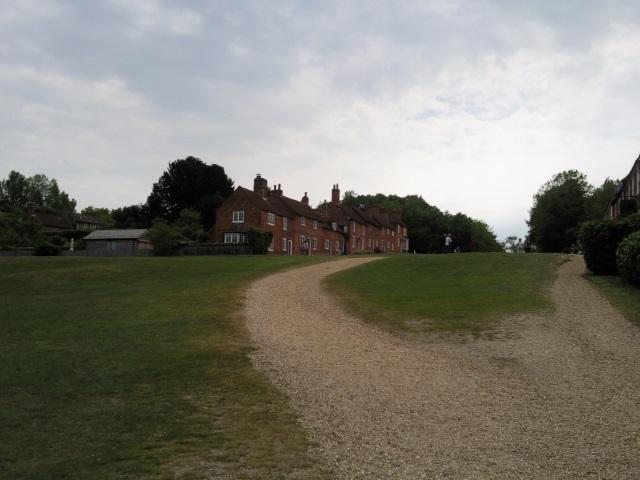Part of the hamlet of Bucklers Hard