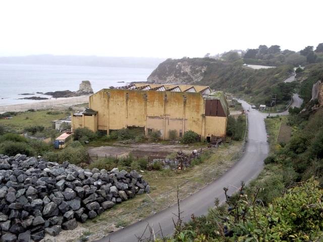 The sad ruins of the Cornwall Coliseum