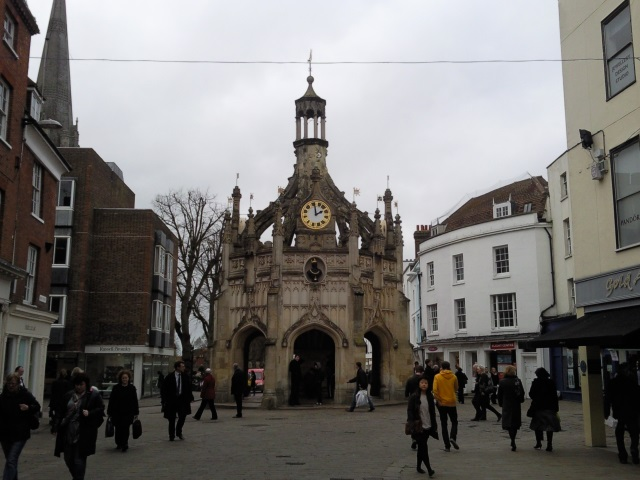 Chichester Cross, a covered marketplace