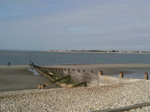 Chichester Harbour from West Wittering Beach