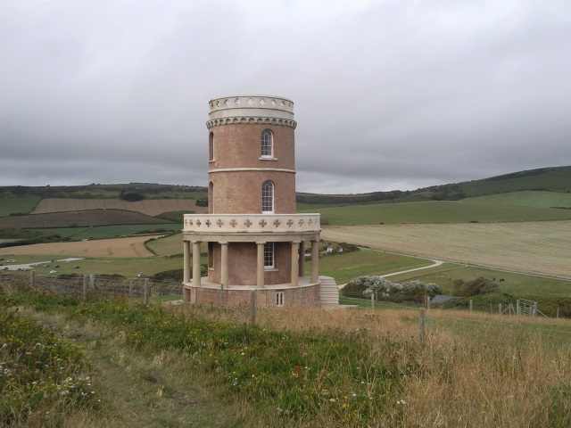 A folly in the shape of a tower