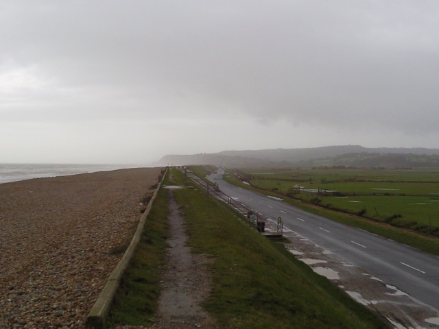 Cliff End as seen from Pett Level